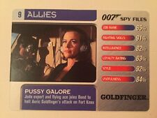 Goldfinger Pussy Galore #9 Allies - 007 James Bond Spy Files Card