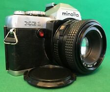 Minolta XG-1 35mm Film Camera. ***ALL NEW SEALS***.....Nice And Clean