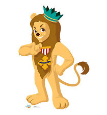 T.W.O.O. Kids Cowardly Lion Lifesize CARDBOARD CUTOUT standee C1073 PICK UP ONLY