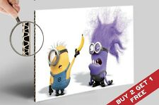 MINION BANANA e il male MINION MOVIE POSTER 30x21cm wall deco regalo per i bambini