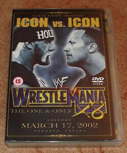 DVD catch WWE - Wrestlemania X8 (2002) Neuf