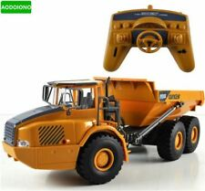 RC Truck Big Dump Truck Engineering Vehicles Loaded Sand Car