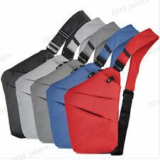 7 Colors Men's Women's Crossbody Sling Bag Shoulder bag Chest Pack