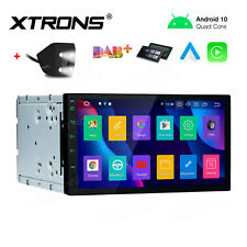 "Universal 7"" Android 10.0 Double 2 Din Car Radio Stereo Head Unit GPS + Camera"
