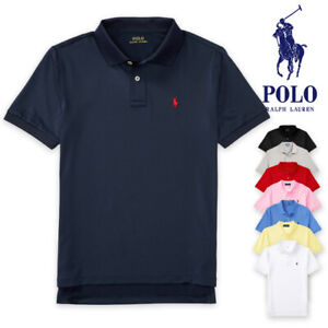 Polo RALPH LAUREN Boys Polo Shirt 1 Mesh Polo shirt Pony Logo