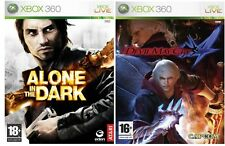 Pack ALONE IN THE DARK y DEVIL MAY CRY 4 Xbox360 games