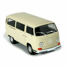 Welly 22472 VW T2 Bus Beige 1972 Scale 1:24 Model Car New! °