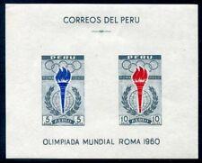 PERU  C173a  Beautiful   Mint  Never  Hinged  Souvenir  Sheet  UPTOWN