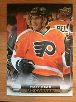 UPPER DECK 2015-2016 SERIES ONE MATT READ CANVAS HOCKEY CARD C-67