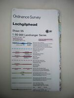 Ordnance Survey - Landranger Map Sheet 55- Lochgilphead