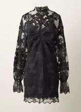 H&M Conscious Exclusive 2018 EcoNyl Black Lace Dress Sold Out Everywhere Size M