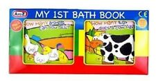 My 1st First Bath Baby Book Toddler Kids Bath Time Play Fun Educational Game