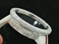Mens Custom Full Case Digital Red I-Gucci Ya114214 Genuine Diamond Watch 9 CT.