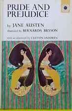 Pride and Prejudice by Jane Austen illustrated Bernarda Bryson Vintage Hardcover