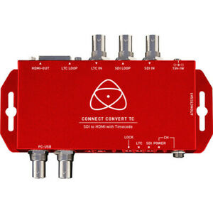 Atomos Connect Convert TC | SDI to HDMI Converter ATOMCTCSH1