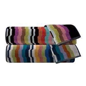 MISSONI TOWELS SET 1 + 1 WILBUR 1 towel and 1 guest