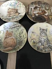 More details for collectable cat plates