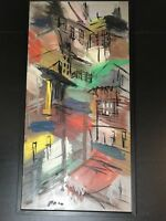 Paro Large Abstract Oil Painting