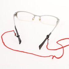 Red - Multi Colors Black Nylon Reading Glass Neck Cord Strap Eyegalass Lanyard