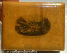 "Mauchline Ware ""Shanklin Village"" Box"