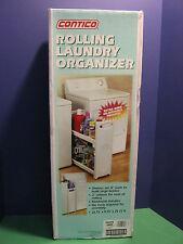 2 Shelf Rolling Laundry Organizer  NEW!!