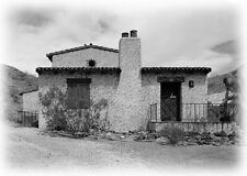 Southwestern style home plans, traditional adobe Hacienda with big verandah