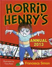 CHILDREN'S ACTIVITY BOOK - HORRID HENRY'S ANNUAL 2013