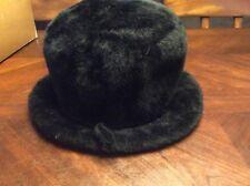Beautiful Fur Mr Charles Black Hat La Vienne Imported Body Made in Austria