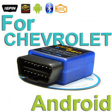 OBD 2 Android Scanner Diagnostics Reader Wireless Bluetooth Tool For CHEVROLET