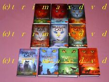 Warrior Cats 1.Staffel & 4x Special Adventure Feuersterns Mission, Wolkenclans..