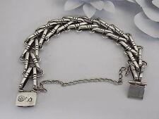 Vintage Hector Aguilar Sterling Silver Bracelet from 1941-1962