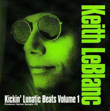 Keith LeBlanc / KICKIN' LUNATIC BEATS VOLUME 1 / Sampling-CD / Audio-CD / 1996