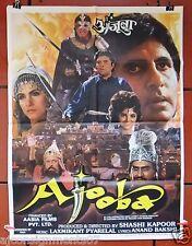 AJOOBA {Amitabh Bachchan} Indian Hindi Original Movie Poster 90s
