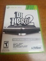 DJ Hero 2 (Microsoft Xbox 360, 2010)(Complete)(Tested)