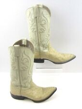 Ladies Bilbo White Full Quill Ostrich Country Western Cowgirl Boots Size: 7.5 ?