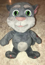 "Talking Tom 10"" Plush Stuffed Animal Repeats What You Say Talk Back Voice Record"