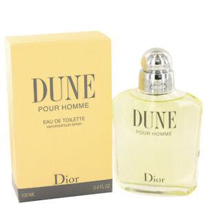 Dune Men's Cologne by Christian Dior 3.4oz/100ml Eau De Toilette Spray