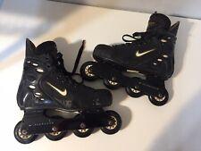 Men's Nike Zoom Air Roller Hockey-Rollerblades- In-line Aluminum Size 8.5