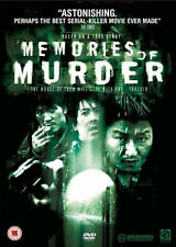 MEMORIES OF MURDER (2005) Luis Hostalot, Carmen Maura New & Sealed Region 2 DVD