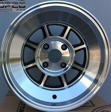 15X9 ROTA SHAKOTAN RIMS 4X114.3 WHEELS (-15MM OFFSET) POLISH FACE (SET OF 4)