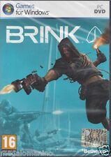 PC Gioco **BRINK** Nuovo Originale Italiano