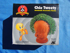 Warner Brothers Looney Tunes Tweety Bird Chia Pet Sealed in Box August 2001