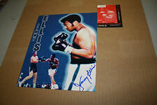 JIMMY ELLIS SIGNED 8X10 COLLAGE PHOTO OF FORMER HEAVYWEIGHT CHAMP (1968-70)