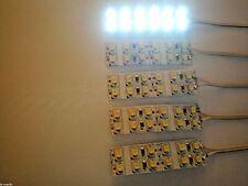A35 / 5 St-.LED Hausbeleuchtung Weiß 5 cm je 2 Reihen  mit Kabel 12 V