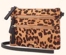 Bebe Faux Leopard Cross body Bag