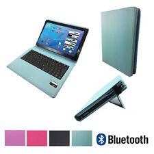 QWERTZ Bluetooth Tastatur Schutzhülle Asus Google Nexus 7 7 Zoll Türkis