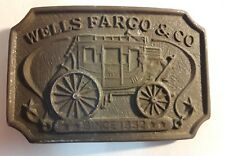 WELLS FARGO TREASURE FOUND !!!!!! REAL VINTAGE BUCKLE RUSTY 40S ? 50 ? 1900S ?