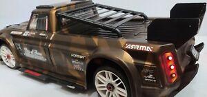 Custom Arrma Infraction Rear Louvers - Muscle Car Aesthetic