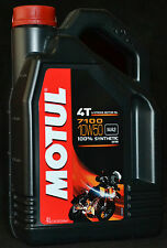 4 Liter Motul 7100 Motorrad Öl  4T Motoröl 10W50 Vollsynthetisch 10W-50 ESTER