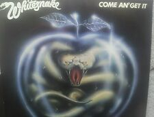 WHITESNAKE COME AN GET IT GERMAN COLLECTORS EDITION 12 INCH VINYL LP 1981